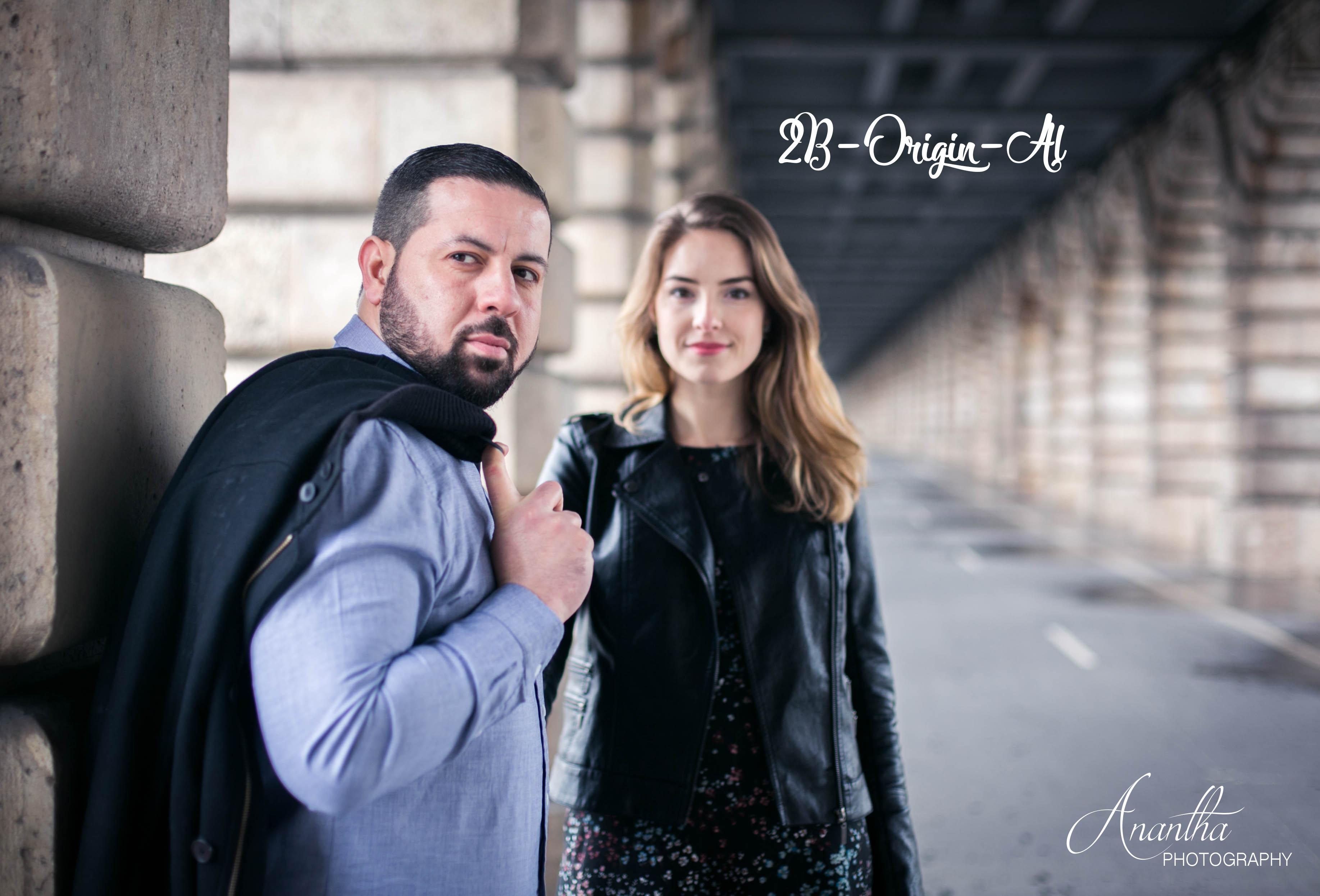 Photos de futurs mariés par le photographe de notre mariage sponsorisé