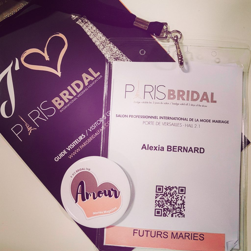 Paris Bridal Fair Access