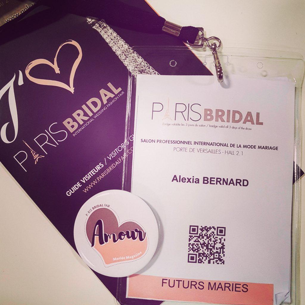 Paris Bridal Fair Access