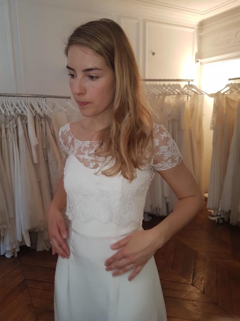 Robe Elise Hameau